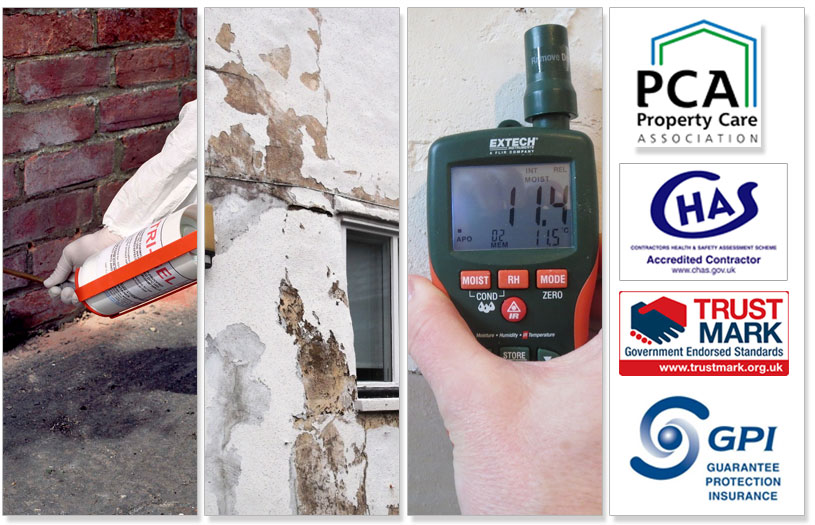 approved contractors for damp proofing in manchester