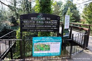 walton hall and gardens entrance